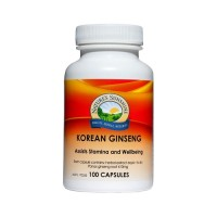 Nature's Sunshine Korean Ginseng - 100 capsules