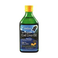 Carlson Cod Liver Oil Lemon Flavour - 250 mls