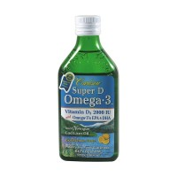 Carlson Super D Omega 3 Lemon Flavour - 250 mls