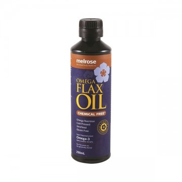Melrose Omega Flax Oil Chemical Free - 250 mls