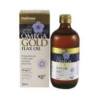 Organic Omega Gold Flax Oil - 500 mls