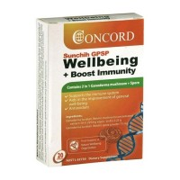 Concord Sunchih GPSP Wellbeing Plus Boost Immunity - 20 Capsules