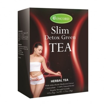Concord Slim Detox Green Tea - 18 Bags