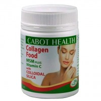 Cabot Health Collagen Food with MSM Plus Vitamain C and Colloidal Silica - 200 grams
