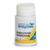 Lifestyle Enzymes Executive Digestive - 180caps (New Label - Same Product)