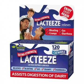 Lacteeze Extra Strength - 120 tablets