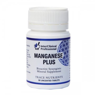 InterClinical Professional Manganese Plus - 90 Tablets
