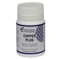 Trace Nutrients Copper Plus - 90 tablets
