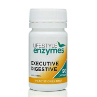 Lifestyle Enzymes Executive Digestive - 90 Caps