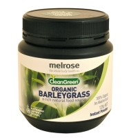Melrose Clean Green Organic Barley Grass Powder - 125 gram