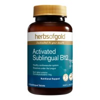 Herbs of Gold Activated Sublingual B12 - 75 Tablets