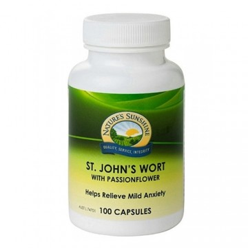 Nature's Sunshine St John's Wort with Passionflower - 100 capsules