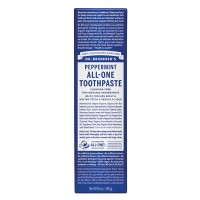 Dr Bronner's Peppermint All-One Toothpaste - 140 grams