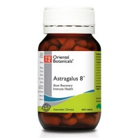 Oriental Botanicals Astragalus 8 (60 & 120 Tablet Sizes)
