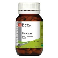 Oriental Botanicals Livaclean (30 & 60 Tablet Sizes)