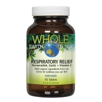 Whole Earth & Sea Respiratory Relief - 60 tablets