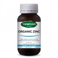 Thompson's Organic Zinc - 180 Tablets
