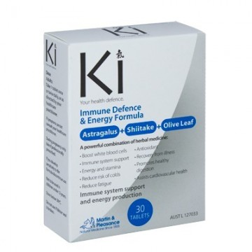 Ki Immune Defence & Energy Formula - 30 Tablets