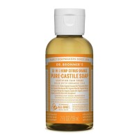 Dr Bronner's Pure Castile Soap - Citrus Orange