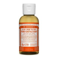 Dr Bronner's Pure Castile Liquid Soap - Tea Tree - 59 mls