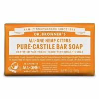 Dr Bronner's Pure Castile Bar Soap - Citrus