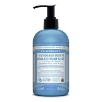 Dr Bronner's Organic Pump Soap - Baby Unscented