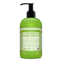 Dr Bronner's Organic Pump Soap - Lemongrass Lime - 355 mls