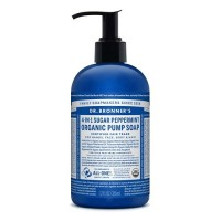 Dr Bronner's Organic Pump Soap - Peppermint - 355 mls