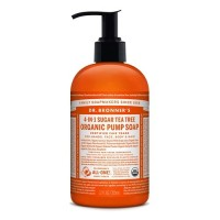 Dr Bronner's Organic Pump Soap - Tea Tree - 355 mls