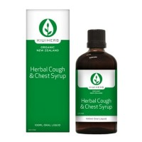 Kiwiherb Herbal Cough & Chest Syrup (100 ml & 200 ml sizes)