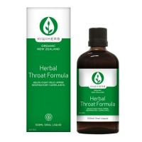 Kiwiherb Herbal Throat Formula (100 ml & 200 ml sizes)