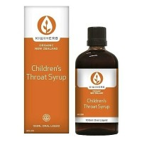 Kiwiherb Children's Throat Syrup (100 ml & 200 ml sizes)
