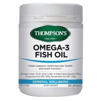 Thompson's Omega-3 Fish Oil - 200 Capsules