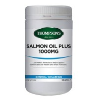 Thompson's Salmon Oil Plus 1000mg - 300 Capsules