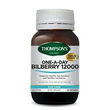 Thompson's One-A-Day Bilberry 12000mg - 60 Capsules