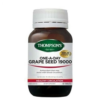 Thompson's One-A-Day Grape Seed 19000mg - 60 Tablets