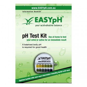 EASYpH Test Paper plus booklet