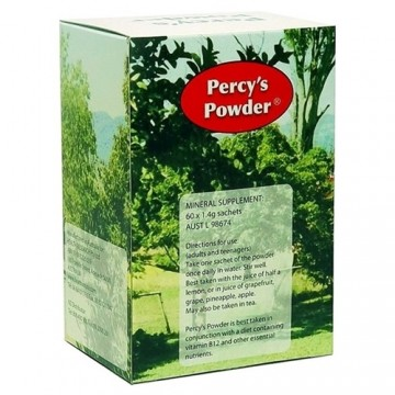 Percy's Powder - 60 Sachets