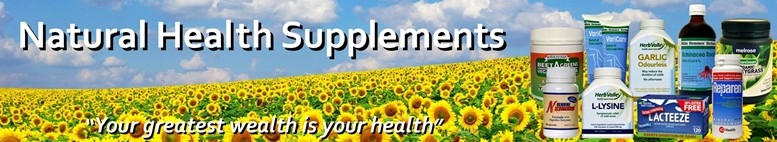Natural Health Supplements